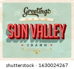 vintage touristic greeting card.... | Shutterstock .eps vector #1630024267