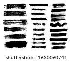 brush strokes strokes on a... | Shutterstock .eps vector #1630060741