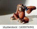 Miniature Of A Giant Orangutan...