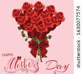 happy valentines day  love...   Shutterstock .eps vector #1630077574