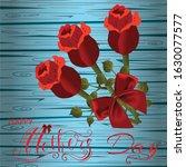 happy valentines day  love...   Shutterstock .eps vector #1630077577