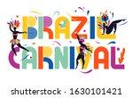brazil carnival. bright...   Shutterstock .eps vector #1630101421