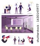 inefficient employees set.... | Shutterstock .eps vector #1630145977
