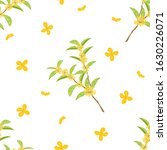 cute hand drawn flowering tree... | Shutterstock .eps vector #1630226071