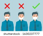 there re three men showing how... | Shutterstock .eps vector #1630237777