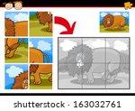 cartoon illustration of... | Shutterstock . vector #163032761