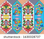 colorful vector flower pattern... | Shutterstock .eps vector #1630328737