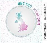 vector polygonal united kingdom ... | Shutterstock .eps vector #1630331374