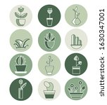 highlights icon. stories covers ... | Shutterstock .eps vector #1630347001