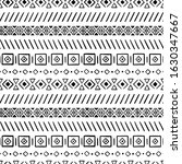 simple hand drawn pattern with... | Shutterstock .eps vector #1630347667