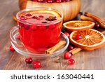 Hot Mulled Wine With...