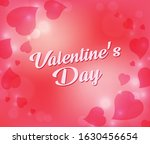 white valentines day text... | Shutterstock .eps vector #1630456654