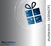 christmas background | Shutterstock .eps vector #163046291