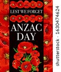 Anzac Day Lest We Forget Vector ...