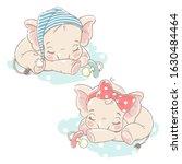 Two  Little Newborn Baby...