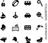 child vector icon set such as ...