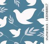 dove of peace. international...   Shutterstock .eps vector #1630488817