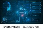 ui hud futuristic technology... | Shutterstock .eps vector #1630529731