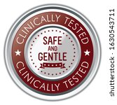 clinically tested. safe and... | Shutterstock .eps vector #1630543711