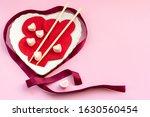 felt hearts with chopstick and...   Shutterstock . vector #1630560454