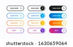 set of web buttons vector...