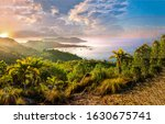 Mountain Sea Bay Sunrise...