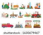 farm activities raster ...   Shutterstock . vector #1630679467