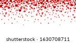 falling red hearts confetti...   Shutterstock .eps vector #1630708711