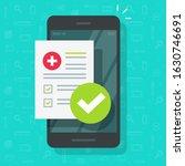 medical prescription online... | Shutterstock .eps vector #1630746691