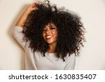 Beauty Portrait Of African...