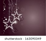 christmas background. modern... | Shutterstock .eps vector #163090349
