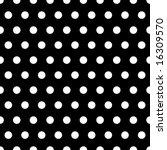 White Polka Dots Illustration...