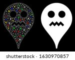 glossy mesh angry smiley map... | Shutterstock .eps vector #1630970857