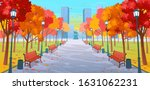 panorama road through the... | Shutterstock .eps vector #1631062231