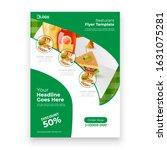 Fast Food Flyer Brochure Design ...