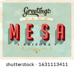 vintage touristic greeting... | Shutterstock .eps vector #1631113411
