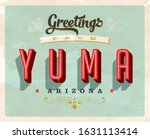 vintage touristic greeting... | Shutterstock .eps vector #1631113414