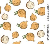colored seamless pattern with... | Shutterstock .eps vector #1631136064