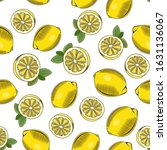colored seamless pattern with... | Shutterstock .eps vector #1631136067