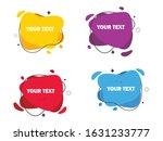 geometric liquid colorful...   Shutterstock .eps vector #1631233777
