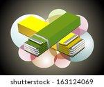 chewing gum    Shutterstock .eps vector #163124069