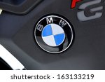Постер, плакат: brand bmw at EICMA