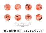 beauty highlights grunge icons. ... | Shutterstock .eps vector #1631373394
