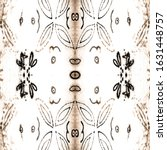 traditional. old art deco... | Shutterstock . vector #1631448757