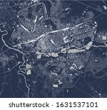 vector map of the city of brest ... | Shutterstock .eps vector #1631537101
