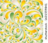 silk texture fluid shapes ... | Shutterstock .eps vector #1631559841