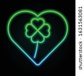heart  shamrock  four leaves...