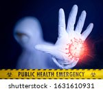 public health emergency....   Shutterstock . vector #1631610931