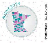 Minnesota Map Design. Map Of...