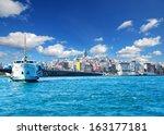 galata tower  istanbul  turkey  | Shutterstock . vector #163177181